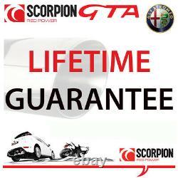 Alfa Romeo 156 Gta 3.2 V6 Scorpion Scorpion Cat Back Échappement En Acier Inoxydable
