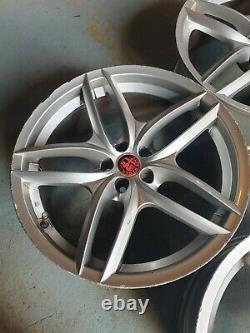 Alfa Romeo Alloy Wheels Rare Gt Cloverleaf Gtv, 147, 156 Gta Araignée 5x98