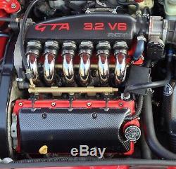 Alfa Romeo Busso V6 Kit D'admission Du Carbone De La Boîte À Air De La Fibre 147 156 Gta Gt Gtv