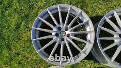 Alfa Romeo Gt Jetfins 18 Alufelgen Toora 156 147 Gtv Gta Spider Silber