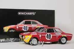 Alfa Romeo Gta 1300 Junior #40 24h Paul Ricard 1971 Minichamps 118 Neu Ovp