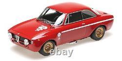 Alfa Romeo Gta 1300 Junior Stradale Red Minichamps 1/18