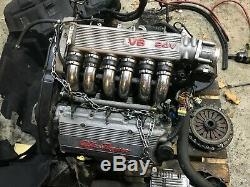 Alfa Romeo Gta Gt 156 147 3.2 V6 24v Busso Moteur No Auxiliaires