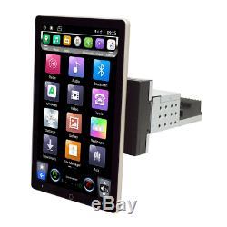 Android 8.1 10.1in 1din Écran Rotatif Car Stereo Radio Gps Wifi 3g 4g Bt Dab