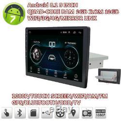Android 8.1 Head 9 2 + 32g Hd Car Stereo Radio Gps Sat Nav Dab Wifi Bluetooth Obd