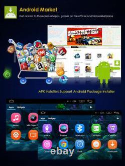 Android 9.0 2din 6.2 Lecteur DVD De Voiture De Navigation Gps Bt Stereo Radio Miroir Lien