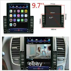 Android 9.1 2 Din 9.7en Voiture Stereo Radio Sat Nav Gps Wifi Mp5 Player 2gb+32gb