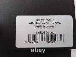 Bbr Alfa Romeo Giulia Gta Verde Montréal 1/18 Bbrc1851c2