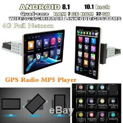 Bluetooth Stereo Radio 10.1in 1din Android Navigation Gps Autoradio Head Unit