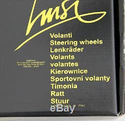 Bois Classic Volant 340mm 13,4 Luisi Montréal Acajou Made In Italy