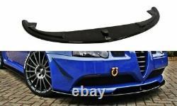Coupe Spoilerlippe Front Ansatz Passend Für Alfa Romeo 147 Gta Schwarz Matt
