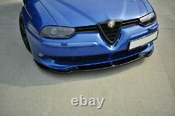 Coupe Spoilerlippe Front Ansatz V. 1 Passend Für Alfa Romeo 156 Gta Carbon Look