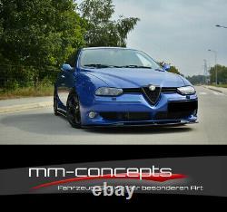 Cup Spoilerlippe Schwarz Für Alfa Romeo 156 Gta Frontspoiler Spoilerschwert