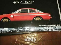 Die Cast Minichamps Alfa Romeo Gta 1300 Junior 1° Serie Stradale Scala 1/18