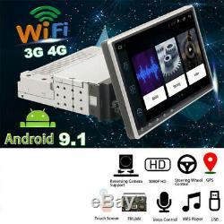 Écran Tactile 9 1 Din Android 9.1 Car Stereo Radio Gps Sat Nav Wifi Miroir Lien
