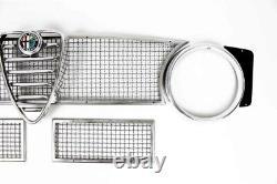 Kühlergitter Oben / Unten Aus Aluminium IM Set Für Alfa Romeo Giulia Sprint Gta