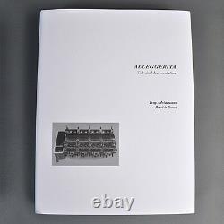Livre Alleggerita (alfa Romeo Gta Gtam Gtaj Tz Giulia Ti Super Data Homologation)