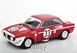 Minichamps Alfa Romeo Gta 1300 Junior 6h Jarama 1972 #33 1/18 Échelle Le300 Nouveau