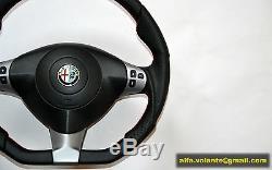 Neu Alfa Romeo 147 156 Gt Lenkrad Flach Gta Flat Volant Volante Qv V6 Q2