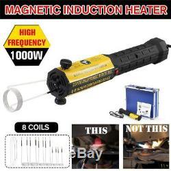 New 1000w Carrosserie Rust Ductor Magnétique À Induction Chauffe Sans Flamme Chaleur Remover