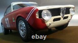 Nuova Alfa Romeo Giulia Coupè 1600 Gta 1965 Tecnomodel Matérialise Résinea Par Col