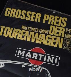 Original 1970 Nurburgring 6 Heures Etcc Tourenwagen Affiche De Course Alfa Romeo Gta