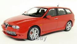 Otto Echelle 1/18 Alfa Romeo 156 Gta Red Wagon Résine Modèle De Voiture