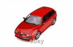 Otto Mobile 746 Alfa Romeo 156 Gta Sportwagon Résine Modèle Voiture Rouge 2002 Ltd 118