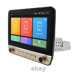 Quad-core 10.1po Single 1din Android 9.1 Voiture Mp5 Player Stereo Radio Gps Wifi Bt