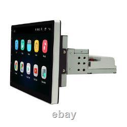Radio De Voiture Bluetooth Stereo 10.1en 1din Fm Usb/mp5 Écran Tactile Amovible