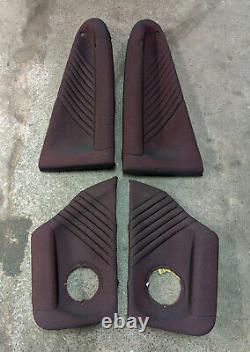 Rare Alfa 147 Gta Chauffé Red Cloth Intérieur / Sièges