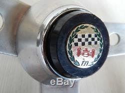 Raro Volante Vintage Hellébore Par Originale Alfa Romeo Direction Gt Gta Etc