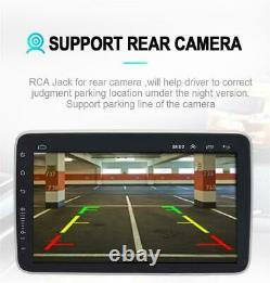 Rotation 10.1in Android 9.1 Double Din 4 Core Gps Wifi Car Stereo Mp5 Player Fm