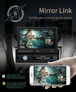 Simple 1din Android 8.1 7in Car Stereo Mp5 Gps Fm Radio Wifi Multimédia
