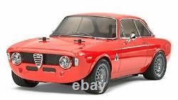 Tamiya 1/10 Électrique Rc Car Série No. 486 Alfa Romeo Julia Sprint Gta 58486 F/s