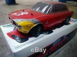 Tamiya 1/10 Rc Série De Voitures Alfa Romeo Giulia Sprint Gta M-06 Kit 58486