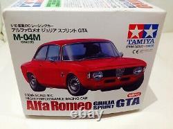 Tamiya 58307 Alfa Romeo Giulia Sprint Gta Radio Contrôlée Voiture Modèle 1/10