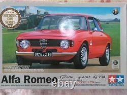 Tamiya Alfa Romeo Giulia Sprint Gta 1/24 Kit Modèle #11745