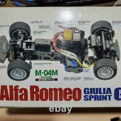 Tamiya Alfa Romeo Giulia Sprint Gta M-04m Châssis 1/10ème Échelle R/c Voiture De Course