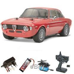 Tamiya Alfa Romeo Sprint Gta Gulia 110 M-06 Komplettset 58486set