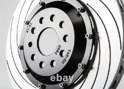 Tarox Front Vented Brake Discs Alfa Romeo 156 (932) Gta 3.2 V6 24v (disque 330mm)