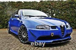 Tasse Spoilerlippe Carbone Alfa Romeo 147 Gta Lippe Front Spoiler Schwert Splitter