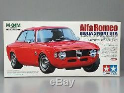 Vintage New Tamiya 1/10 Rc Alfa Romeo Giulia Sprint Gta M-04m Chasis 58307