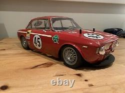 Vintage Tamiya Alfa Romeo Giulia Sprint Gta # 58187 M02m
