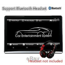 Voiture 12.5 Hd 1080p Écran Tactile Android 6.0 Wifi 3g / 4g Bt Moniteur Hdmi Têtière