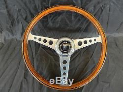 Volante Vintage Nardi Mozzo Originale Alfa Romeo Es. Giulia Gta